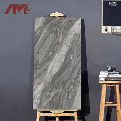 Vitrage look plein de marbre poli brillant des carreaux de sol en brique vitré
