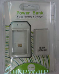 Charger With 3600mah Battery for xBox360