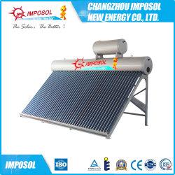 200L-500L setzte Vakuumgefäß-Kupfer-Ring-Solar Energy Warmwasserbereiter unter Druck