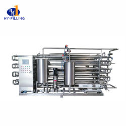 Esterilização instantânea ultra alta temperatura Esterilizador Uht pelo vapor ou eléctrico