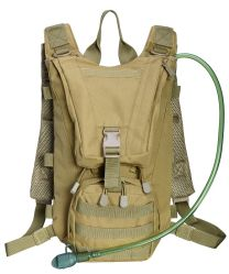 Capacidade de grandes caminhadas Táctica militar personalizado de moda de Nylon reciclado Saco de água