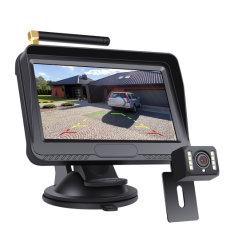 4,3-Zoll-Monitor mit digitaler, drahtloser Rückansicht, Einparken im Rückwärtsgang Rückfahrkamera für Auto