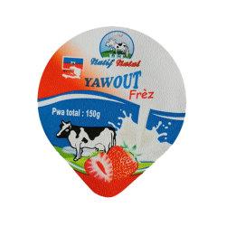 Hitte - de Deksels van de verbindingsAluminiumfolie voor het Verzegelen van de Kop van de Yoghurt