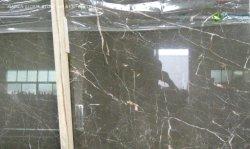 Acabado de cuero/Pulido/pulidas losas de mármol natural/Cortada Mousse de café de azulejo de revestimiento de paredes interiores y decoración de habitación/cocina/baño Top