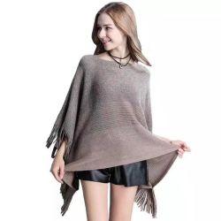 고전적인 최신 퇴색 얇은 숙녀 봄과 가을에 의하여 뜨개질을 하는 스웨터 숄