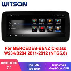 Autoradio-Spieler des Witson Android-7.1 für MERCEDES-BENZ EinKategorie W176 20162017 (NTG5.0) 2g 16g GPS Multimedia