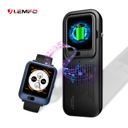 Lemfo Lem11 4G androides WiFi GPS Bluetooth intelligentes Uhr-Telefon 3G+32g erhältlich mit Energien-Bank-Stereolautsprecher-Funktions-Eignung-Verfolger Smartwatch Replacable Brücke