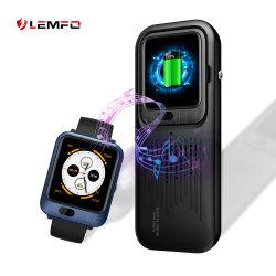 Lemfo Lem11 4G androides WiFi GPS BT überwachen das Telefon 1GB 16GB 3GB 32GB erhältlich mit Energien-Bank-Stereolautsprecher-Funktions-Eignung-Verfolger Smartwatch Replacable Brücke
