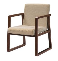 Armrest (SP-EC612)が付いている中国の旧式な木の食事の椅子