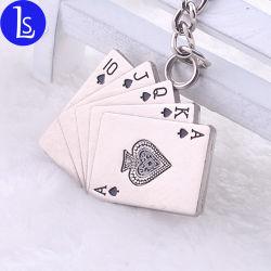 Caribbean Stud Poker la más alta calidad Venta caliente divertida figura de metal llavero