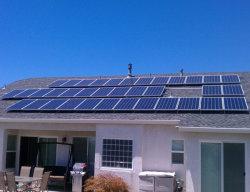 Complete apparatuur voor 10 kw off-Grid Solar Power System