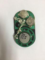 선물 상자를 위한 가벼운 센서 소리 모듈, 음성 모듈, 건강한 칩, 종이 봉지를 위한 음성 모듈