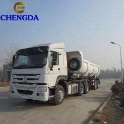 60T-80t de carga pesada coche remolque remolque basculante