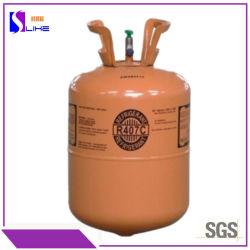100 % de gaz pur le fréon R134A/R404A/R410A/R407c Auto pour l'Afrique du Sud de fluide réfrigérant