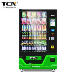 新しい! ! Tcnコンボの軽食の飲み物のタッチ画面の自動販売機24時間の自己サービス