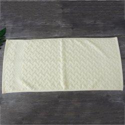 De hete Handdoek van de Hand van het Gezicht van de Gift van het Embleem van de Jacquard van de Douane van de Verkoop