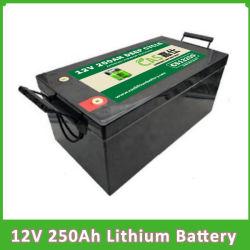 batterij LiFePO4 van de Cyclus 12V 250ah van het Pak van het Fosfaat van het Lithium van de Batterij 100ah 150ah 200ah 250ah de Navulbare Zonne Ionen Diepe