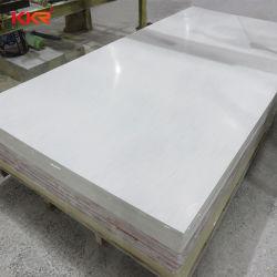 Marmeren Imitatie Kunstmatige Plak 100% van de Steen Zuivere Acryl Stevige Oppervlakte voor het Comité van de Muur en Countertop