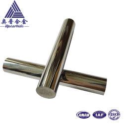 Carburo di tungsteno Polished solido di riserva del diametro 10* L75mm di Yl10.2 91.5hra H6 Rod