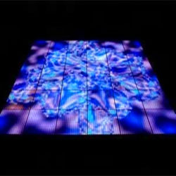 Piste de danse Night Club RVB Intercative Portable stade de l'éclairage de mariage
