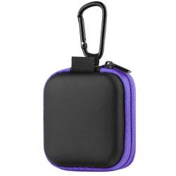 Disco duro portátil personalizado de transporte Viajes EVA Auricular con mosquetón