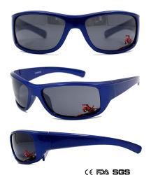 Fashionable Esportes Juvenis óculos de sol com padrões nas lentes (LT905046)