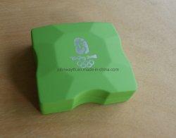 Colar personalizado jóias caixa de embalagem de veludo preto Inserir jóias de luxo