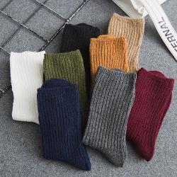 La producción profesional Stock calcetines de algodón de la mujer