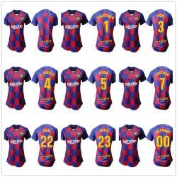 2019 2020 Барселона Месси Griezmann футбол футболках Nikeid Футболка комплекты