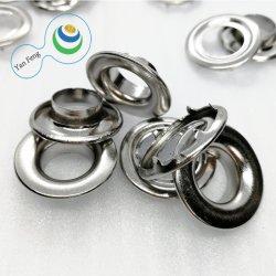 Diseño inferior puntas de 22,5 mm del ojal de latón para vestir