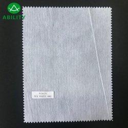 W1602s weißes nicht gesponnenes Zwischenzeilig schreiben 60g für Kleidungs-Kleider