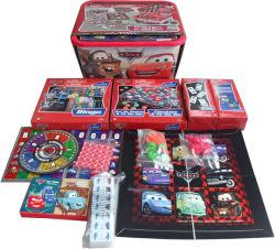 Kundenspezifische neue Entwurfs-Kind-Innenbrettspiel-Karten-Set mit verpackenkasten