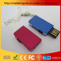 Azionamento dell'istantaneo del USB di prezzi bassi della fabbrica piccolo del metallo del libro della penna dell'azionamento del mini del metallo di stile del regalo del USB libro diretto del bastone