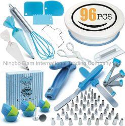 Venta caliente 96pcs molde Cake Decoration herramientas con las boquillas de pulverización