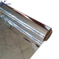 PEの泡および空気泡ラミネーションのための金属で処理されたペットフィルム