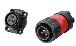 Fb-20-C03PE-01 Energie-Geben feuchtigkeitsfester Lampen-spezieller wasserdichter Verbinder-elektrisches Bohrgerät an