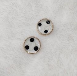 أزرار تصميم معدنية أزياء إكسسوارات أزياء للملابس