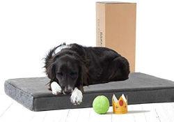 Mousse à mémoire de lits de Pet Dog Table avec plusieurs tailles/couleurs