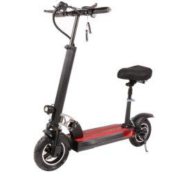 10 pulgadas de 48V 500W Scooter eléctrico plegable para adultos