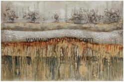 Décoratif populaire de l'huile sur toile peintures abstraites pour décoration murale