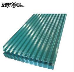 고품질 Z150g 아연 코팅 스틸 타일 컬러 코팅 페인트 지붕 시트