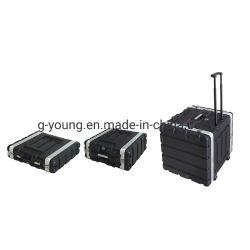 Caso de Voo de rack de ABS / Caixa de montagem em rack de plástico / AMP casos