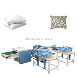 Bille de produits chimiques de fibres de polyester automatique oreiller fournisseur de machines de remplissage