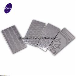 201 ورقة من الفولاذ المقاوم للصدأ منقوش عليها علامة الفولاذ المقاوم للصدأ سمك 0.5 إلى 1.5 مم