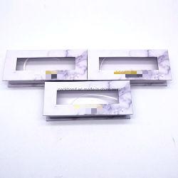100% 자체 제작 3D 5D 20mm 25mm 모피 거짓 속눈썹 속눈썹 포장 상자 사용자 지정