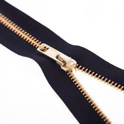 Bronzezahn-Metalmilitäraufladungs-Reißverschluss für Schuhe