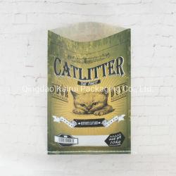 Tejido de polipropileno envases de harina de trigo de la casa de alimentación de aves de corral de ganado de la bolsa de 25kg bolsas BOPP laminado PP