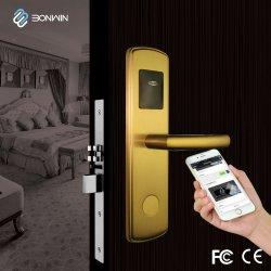 Smart Wireless de la puerta electrónica eléctrica Hotel RFID móviles soporte de bloqueo de control de WiFi