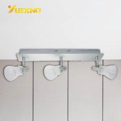 Galería de pasillo blanco cálido Dormitorio Cocina plancha COB 15W Downlight LED de vidrio de montaje en superficie Spot Lámparas de metal