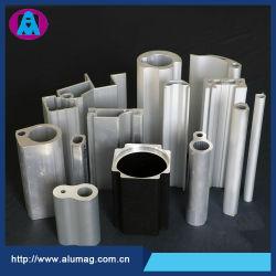 Kundenspezifisches Schlitz-/Spur-/Kanal-/Kapitel-Aluminiumstrangpresßling-Profil der Aluminiumlegierung-festes T